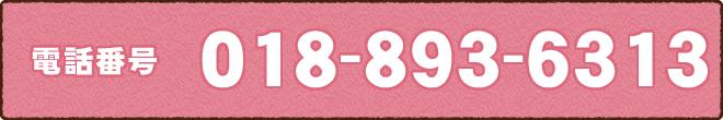 電話番号018-893-6313